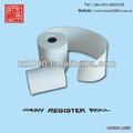 100% vierge, atm/trésorerie pos rouleau de papier thermique réception grossiste. 80mm
