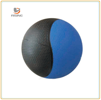 Crossfit Rubber Material Dual Color Bouncing Medicine Ball