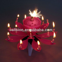 fancy birthday cake sparklers fireworks music candle