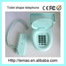 New design toilet shape telephone,wire telephone,corded telephone
