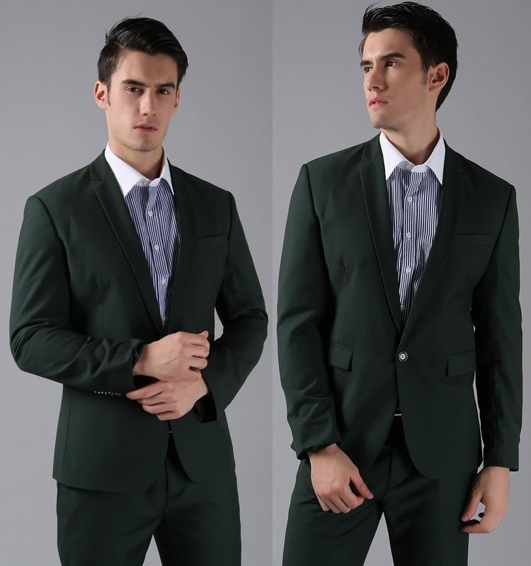 HTB1ODxkFVXXXXX9aXXXq6xXFXXX5 - (Jackets+Pants) 2016 New Men Suits Slim Custom Fit Tuxedo Brand Fashion Bridegroon Business Dress Wedding Suits Blazer H0285
