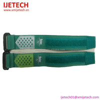New model Polyester mosquitoes repellent Bracelet with net pocket to put the pill