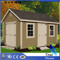 Container Flat Pack Steel Garden Shed