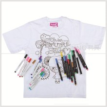 Kearing brand, 2.0mm nib non toxic felt tip fabric marker, permannet ink on t shirt, confirm to ASTM and EN71 standards #FM20