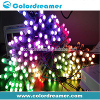 Pixel string 12mm RGB dmx led node light for entertainment lighting