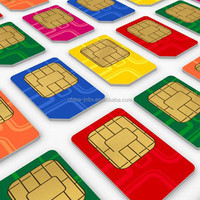 ABS card for SIM card with flame resistance