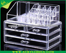 Customized Wholesale Best selling Acrylic makup organizers with drawers