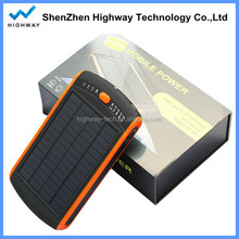 Portable 23000mah Solar Power Bank Emergency Solar Charger for Laptop