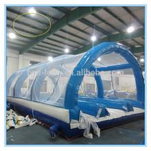 Venda quente de casamento ao ar livre grande PVC limpar tenda bolha inflável