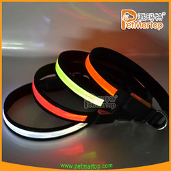 best selling products 2015 TZ-PET1038 dog collar pvc reflective pet accessories collar for a dog