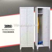 IGO-020 Metal Clothes Wardrobe bench lockers