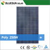Bluesun best selling cheap price poly 250W solar panel wholesale