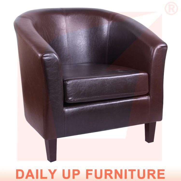 klasik pu kesit kanepe Kolçaklı oturma odası deri kanepe lüks mobilya ofis klasik bir koltuk salon