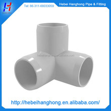 2 inch plastic pvc 3 way elbow pipe fittings