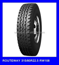 Chinese tires tyre factory looking for distributors for sale 315/80R22.5 RW108