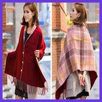 hot sale two-sides wear shawl