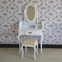 Cheap white girls room dressing table girls bedroom furniture set