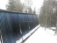 Evacuated tubes /solar system /solar project for heating project for swimming pool heating water