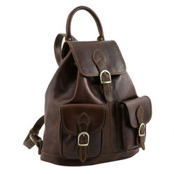 Fashion Designer Factory Wholesale PU Leather School Backpack