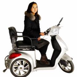 500W three wheel electric vehicle/scooters