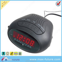 Digital Clock Radio with 0.6 Inch LED