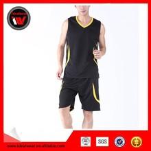 Wholesale Mesh Sleeveless Basketball Sportswear