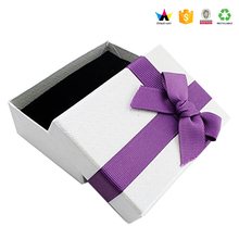 Sample packaging box box of jewelry with foam insert