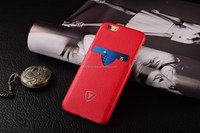 Red High quality cell phone case, OEM mobile phone cover, PU leather case