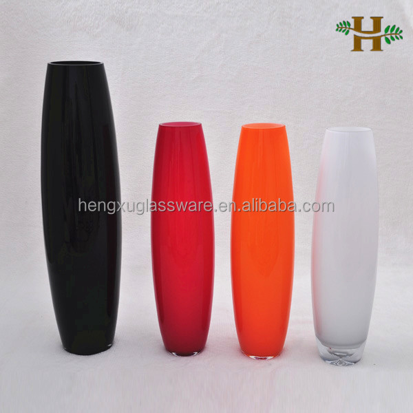 Cheap Tall Black Glass Vases Wholesale Glass Vases For Home Decor Buy Tall Black Glass Vases