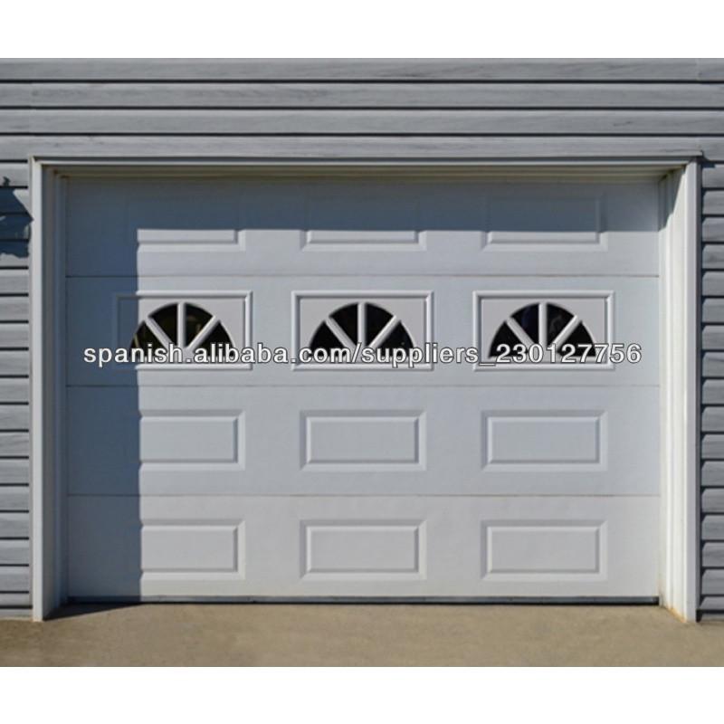 Dise o de moda de alta calidad puertas de garaje seccional for Costo del garage 24x36