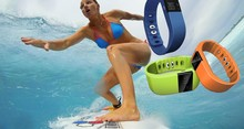Water partner! Smart Anti-lost fitness tracker watch withLED Display/Dial/Alarm/Music Player/Pedometer, silicon wristband