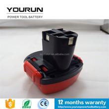 Electronic tool battery for bosch 9.6v battery