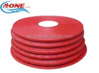 13/4/6MM High Quality RED PVC Bag Neck Sealing Tape / Fruit / Veg / Meat
