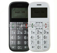 old people cell phone with gps SOS emergency call,big keypad