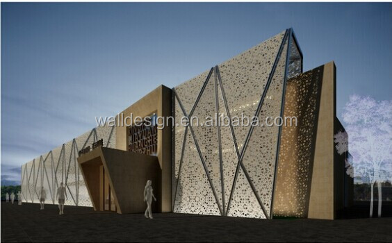 pakistan laser cut decorative metal screens for architectural wall