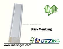 wooden finger joint brick moulding for sale