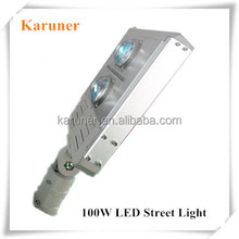 Meanwell Driver Aluminum Integrated Modules 3 Years Warranty Waterproof Outdoor 100W LED Street Light