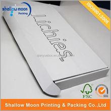 Custom design big packaging box with printed logo