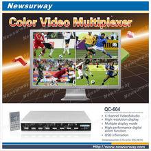 cctv video quad splitter