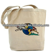Green China Manufacturer rNew Style 100% Cotton Custom Logo plain heavy duty cotton canvas tote bag