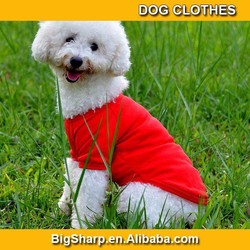 Breathable Simple Dog Clothes Cotton T-shirt Puppy Cute Summer Cloth Solid Color 6 colour 4 size Pet Dress DC003