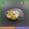 Ecofriendly PET plastic round salad packaging box