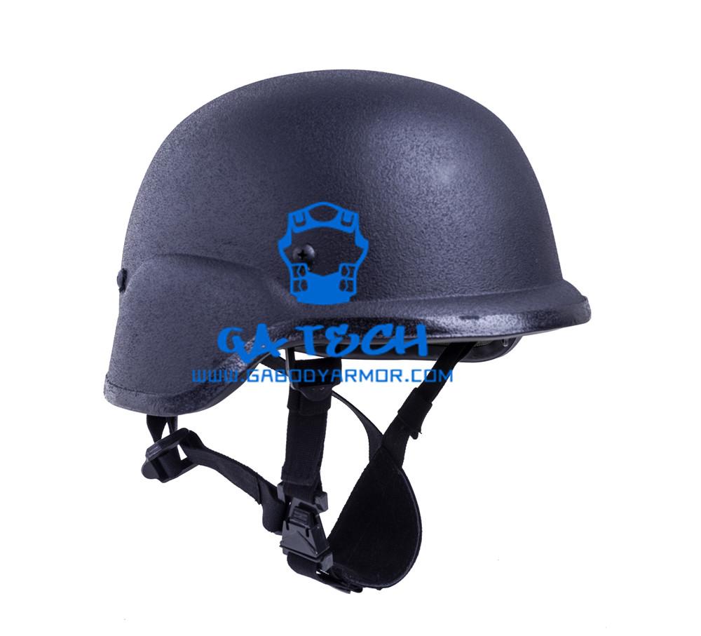 Pasgt Schwarz Farbe military kevlar kugelsichere helm