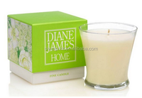 Customized matte lamination luxury candle box, candle box packaging from factory