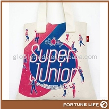 China promotional cheap thin canvas bags