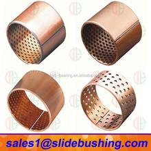 half bearing bushing / sintered copper bushing / hs code of solid lubrication bronze bearing bush