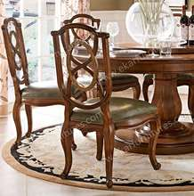 Bistro Accent Furniture of Dining Room Leather Chair