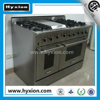 Freestanding 48inch double gas ovens 6 burner best gas cookers