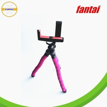 Creative Style Mobile Phone Holder & camera Flexible Mini Tripod,professional high qualtity extendable sponge lightweight camera