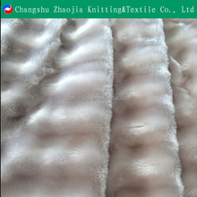 Soft Mink Fake Fur Fabric PV Plush Fleece for Blanket Wholesale from China Factory